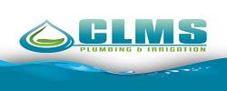 CLMS Plumbing & Irrigation Logo